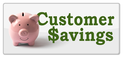 Customer Savings